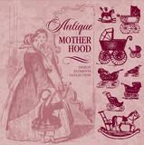 antique motherhood set (vector) poster