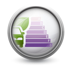 Symbole vectoriel diagnostic performance énergétique (DPE)