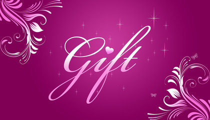 Gift Card - Pink