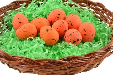 Uova arancioni