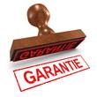 "3d Rubber Stamp - ""Garantie"""