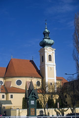 Carmelite church, Gyor, Hungary