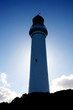 A Silhouette of Split Point Lighthouse