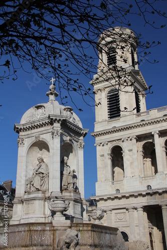 Poster Eglise Saint-Sulpice
