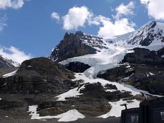 Snow Dome Glacier Jasper Canada