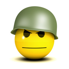 Soldier smiley