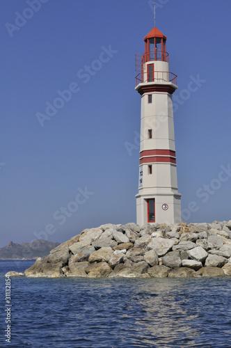Fototapeten,leuchtturm,türkei,meer,zeichen