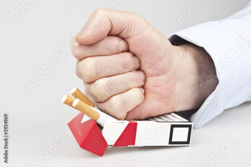 Punch in cigarettes