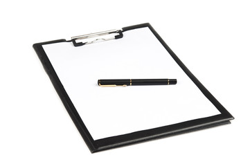 Isolated notepad