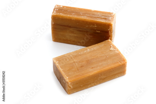 natural soap close up