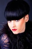 femme avec une coiffure atypique - 31140264