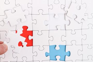 Puzzle unterschiedlich