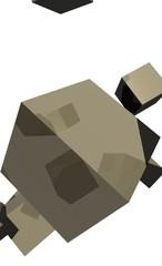 cubes marrons
