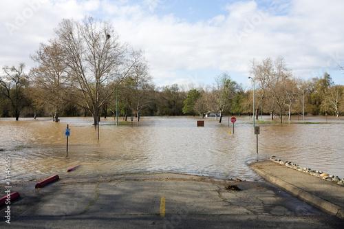 Leinwandbild Motiv Flood