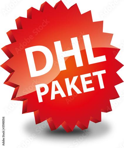 button rund dhl paket dhlpaket von vektorisiert lizenzfreier vektor 31148056 auf. Black Bedroom Furniture Sets. Home Design Ideas