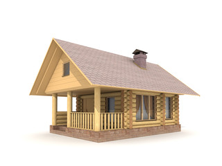 Wooden Log-house