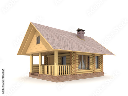 Wooden Log-house