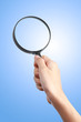 hand magnify glass