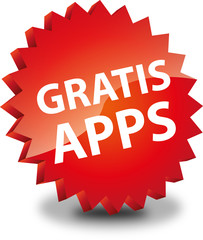 Button Rund Gratis Apps