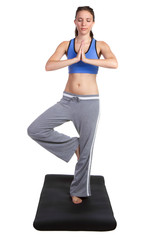 Yoga Fitness Woman