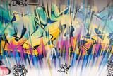 Fototapete Künstlerische darstellung - Gischt - Graffiti