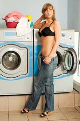 wäsche waschen