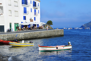 View of Cadaques, Spain