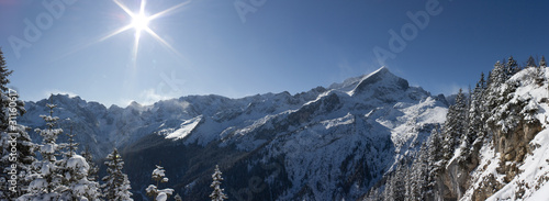 Garmisch Winter-Panorama