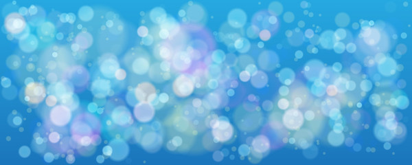 Sky bokeh background