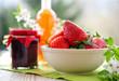 erdbeeren, marmelade und likör I