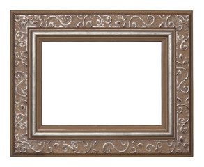 Wooden frame with a beautiful carving