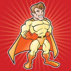 Cartoon Super Hero