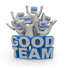 Good Team - People with Teamwork Qualities