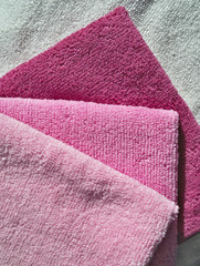 Microfiber towels set.