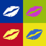 Lippen Retro - 31173455