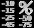 Prozentzeichen - Zahlen - Puzzle - isoliert
