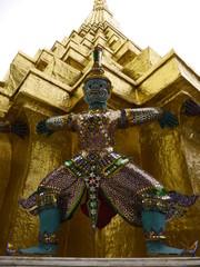 Guardian of Royal Thai Temple, Wat Prakaew