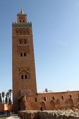 Koutoubia mosque, Marrakech, Morocco, Africa