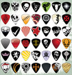 Guitar pick set - 31181400