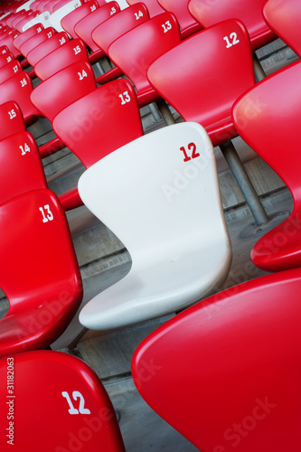 Beijing National Stadium chair