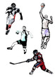 Постер, плакат: sport quartet