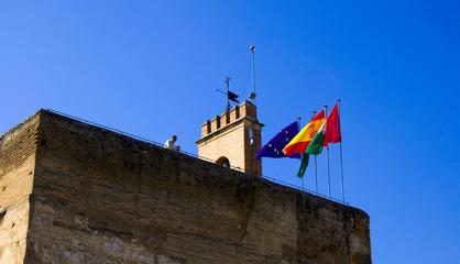 Alcazaba - Alhambra - Granada - Spanien