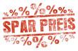 SPAR PREIS % stempel