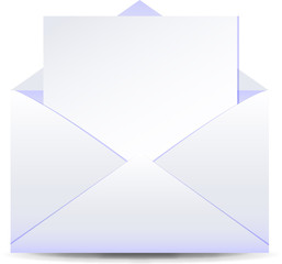 Letter with paper