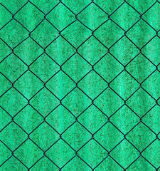 metal wire netting on roofing slate seamless background pattern
