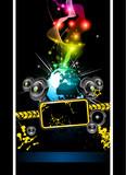 Alternative Disco Flyer for International Event