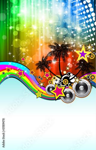 Latin Disco Event Flyer