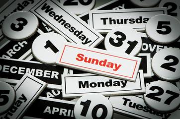 Mesi e giorni della settimana