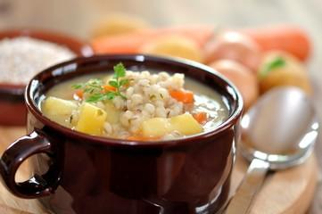 Gemüseeintopf mit Perlgraupen