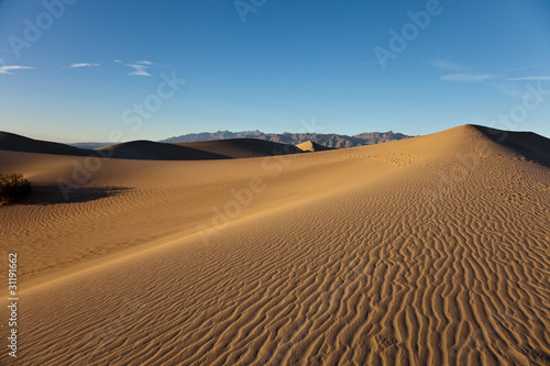 Mesquite Flat Sand Dunes, Death Valley National Park,
